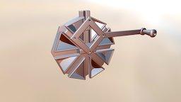 4-Way Trammel Of Archimedes 3D Model