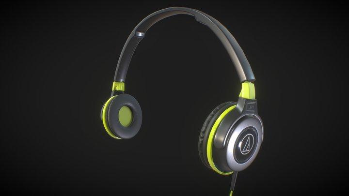 AudioTechnica ATH-S100 BGR 3D Model