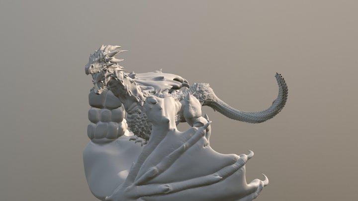 Wyvern (free download) 3D Model