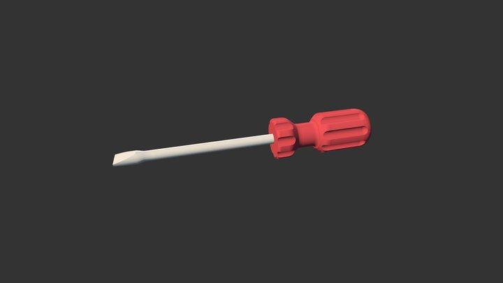 Screw 3D Model
