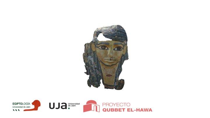 Máscara de cartonaje del gobernador Heqaib III 3D Model