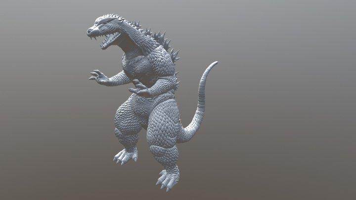 Godzilla Test 3D Model