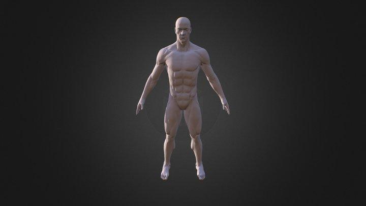 Avg Male 00 3D Model