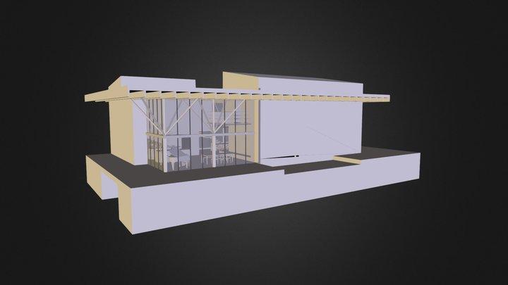 Y U N E Z H O U S E Sketchfab 3D Model