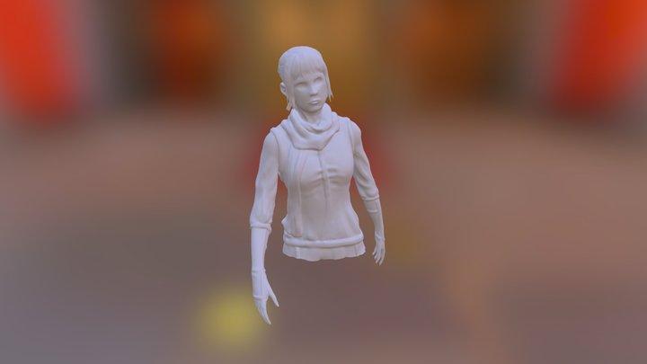 First Zbrsuh Model Test 3D Model