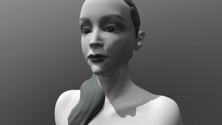 Kathleen 3D Model