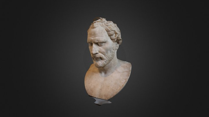 Louvre Demosthenes (Recap360) 3D Model