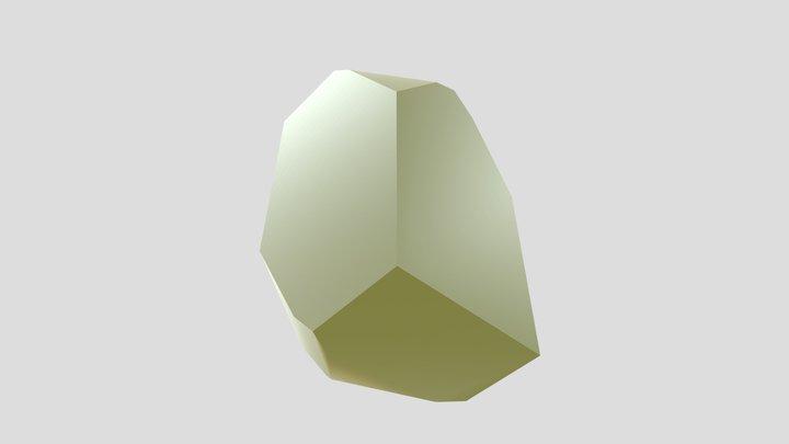 Diopside 3D Model