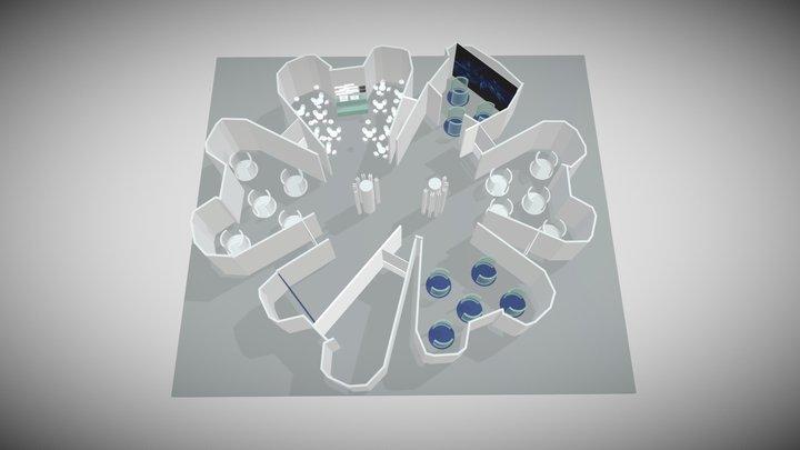 London Zoo - Casson Building Concept 3D Model