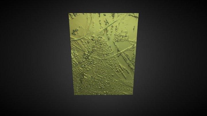 Schenectady Full Map 3D Model