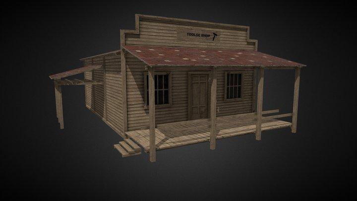 Tools Shop 3D Model