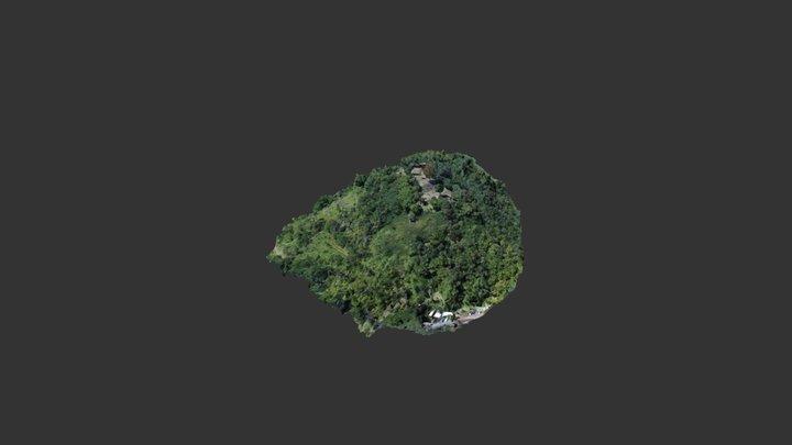 Gunung Padang 3D 3D Model