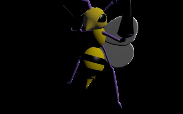 beedrillfiddled.blend 3D Model