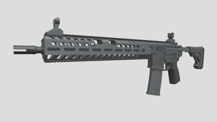 Sig Sauer MCX Virtus Patrol ( Not for sale ) 3D Model