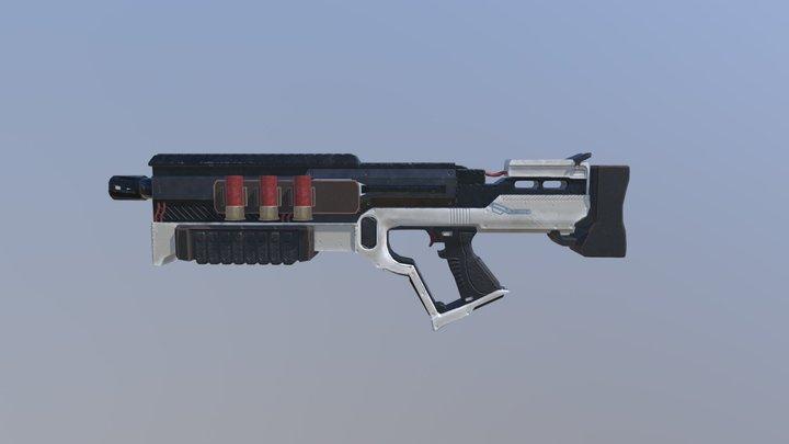Shotgun. Eduard(2018) 3D Model