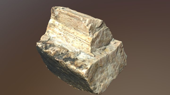 Ox Geo 10 Potassium feldspar 3D Model