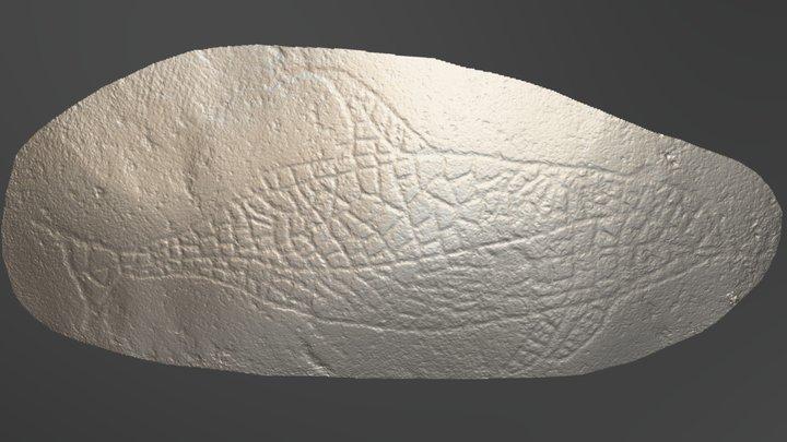 Skogerveien (ID.13191) hvalfigur 3D Model