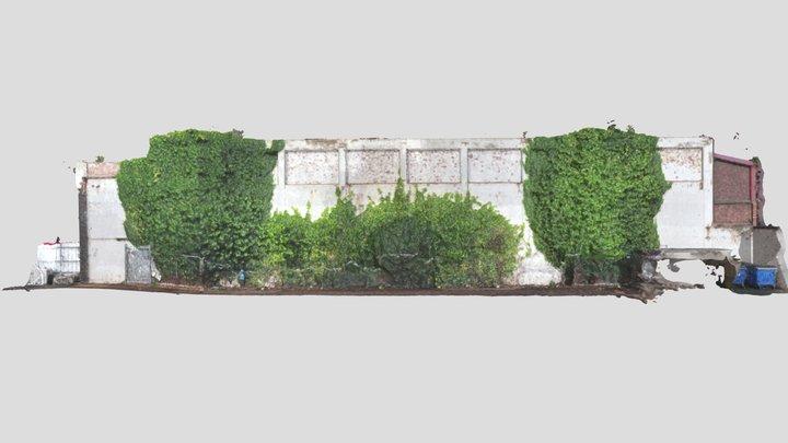 Kier Birmingham Wall Model 3D Model