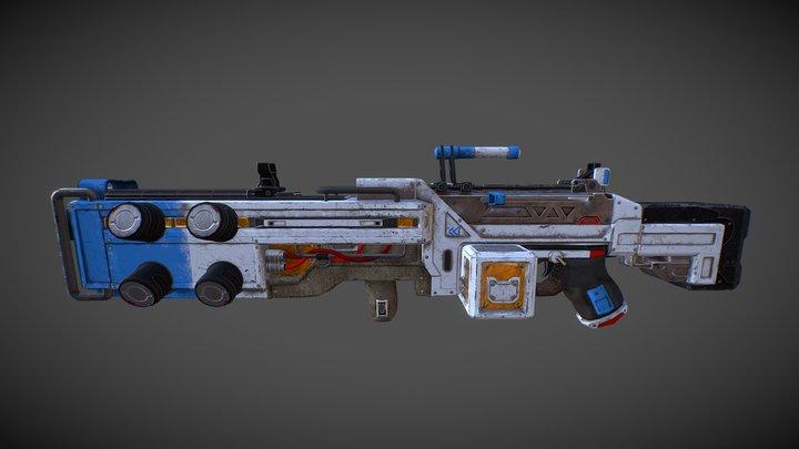 Spitfire Orbital Apex Legends ||  Zumoarts 3D Model