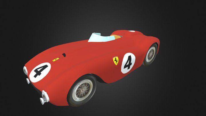 Ferrari375plus 3D Model