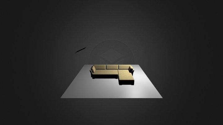 KD sofa1 3D Model