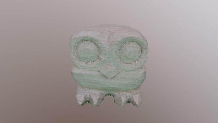 Owl Sculpture from Photos 3D Model