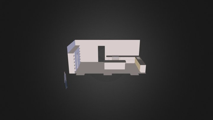 Reburner Kitchen 2 Copy 3D Model