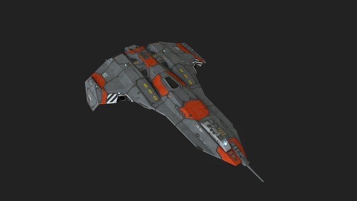hgn_pulsarfighter 3D Model