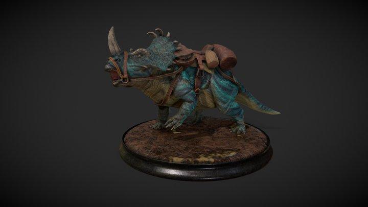 Centrosaurus Apertus 3D Model