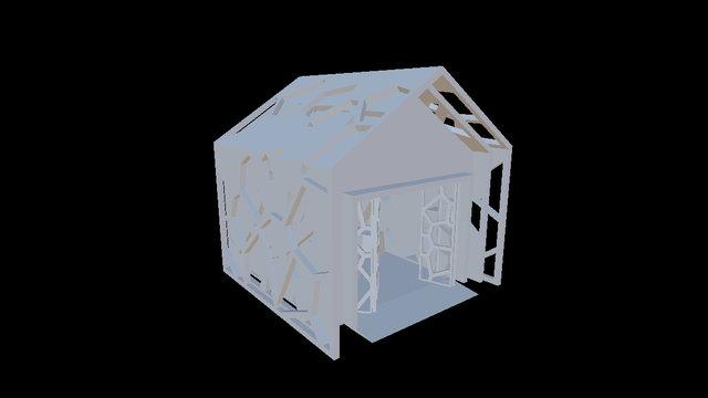Springburn Winter Gardens Competition - Pavilion 3D Model