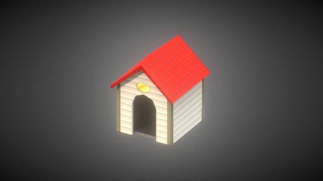 Dog's House 3D Model