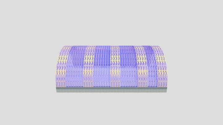 sala_de_sport_30x45m 3D Model