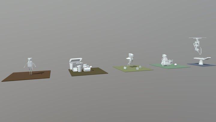 [XYZ_School] HW4 - Draft_Secondary_Form 3D Model