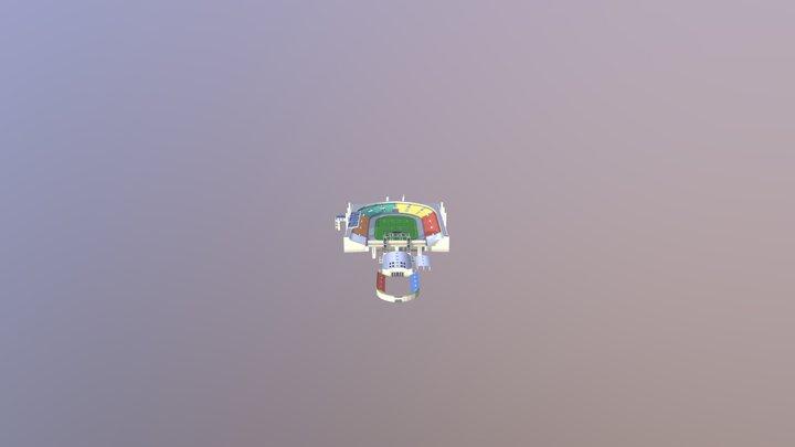 Pacaembu Stadium 3D Model