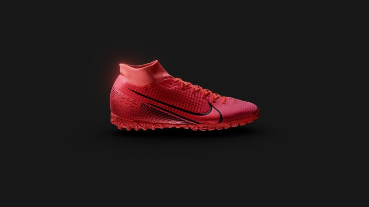 Nike Mercurial Superfly 7 3D Model