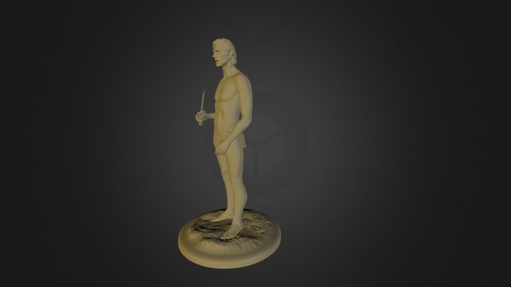 Tarzan 3D Model