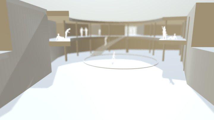 PUHOS_komposition_locked camera.c4d 3D Model