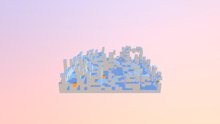 Blocky Finder AR 3D Model