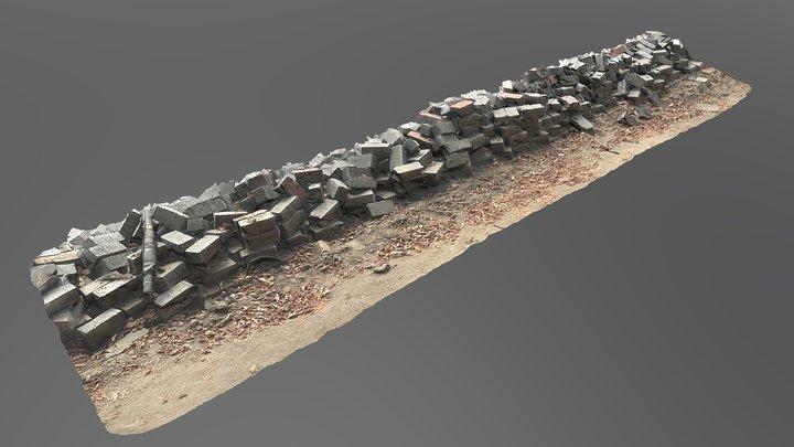 Pile 02 3D Model