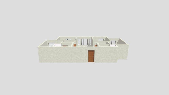 Cypress Apartments 3D Model