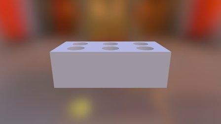 Pieza Lego 3D Model