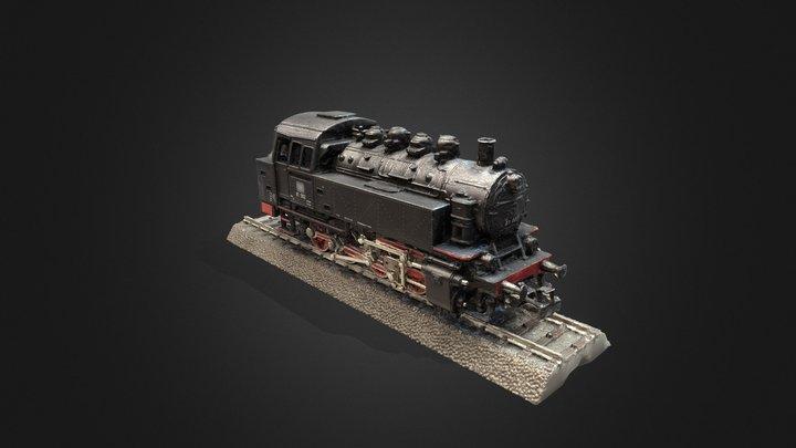 Scale Model Steam Locomotive #RCToyChallenge 3D Model