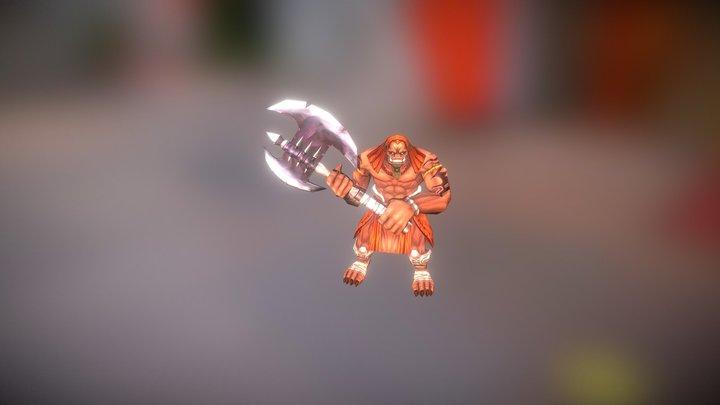 Enemy 3 3D Model