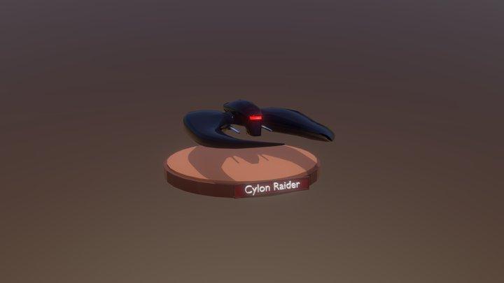 Cylon Rider 3D Model
