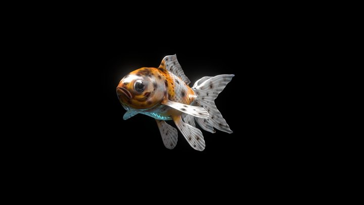 Happy Fish #FishChallenge 3D Model