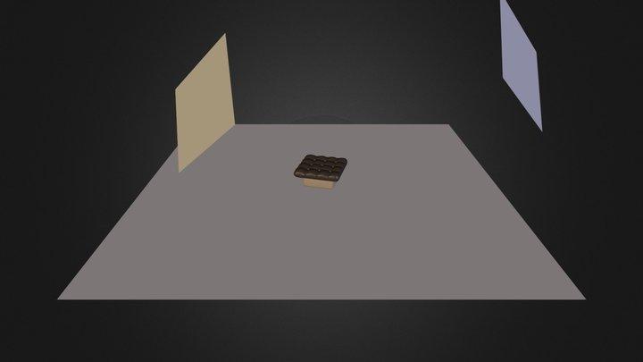 Lederstuhl 3D Model