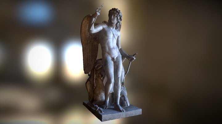 Cupid Triumphant 3D Model