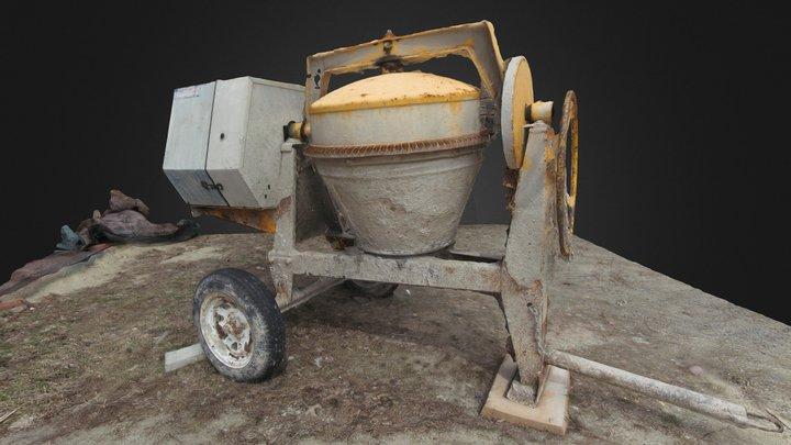 cementMixer-02_200K 3D Model