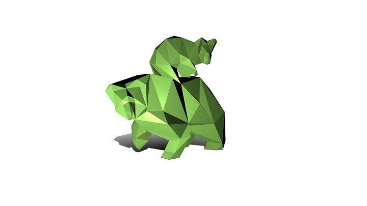 Bears 2 3D Model