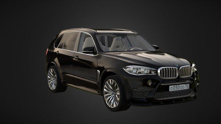 BMW-X5 3D Model